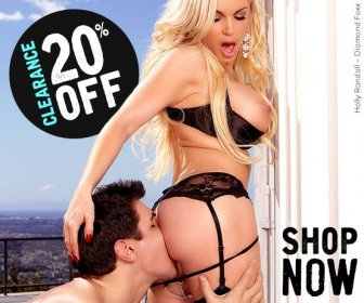 20% Off Clearance porn movies starring Diamond Foxx and more.