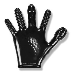 Finger Fuck Glove - Black Sex Toy