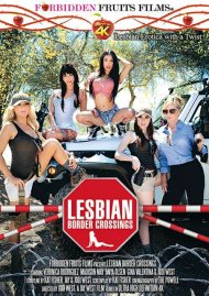 Lesbian Border Crossings DVD Image from Forbidden Fruits Films.
