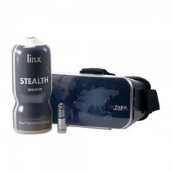 Linx Cyber Pro Stealth Stroker And VR Glasses Sex Toy