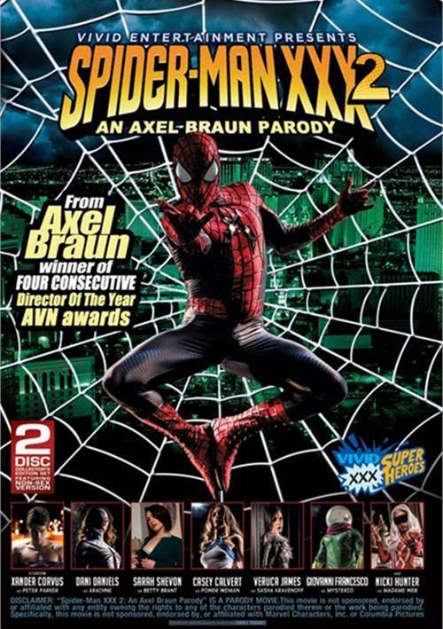 Spider-Man XXX 2: An Axel Braun Parody Porn