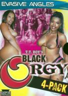 Black Orgy 4-Pack Porn Movie