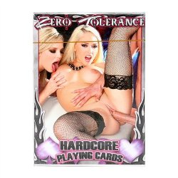 Zero Tolerance Hardcore Playing Cards Sex Toy
