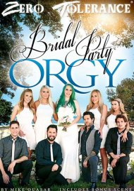 Bridal Party Orgy DVD Image from Zero Tolerance Ent.