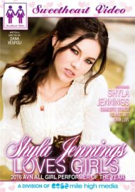 Shyla Jennings Loves Girls DVD porn movie from Sweetheart Video.