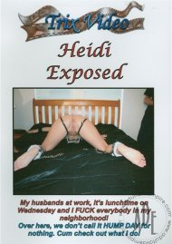 Heidi Exposed Porn Video