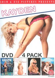 Kayden DVD 4 Pack Porn Movie
