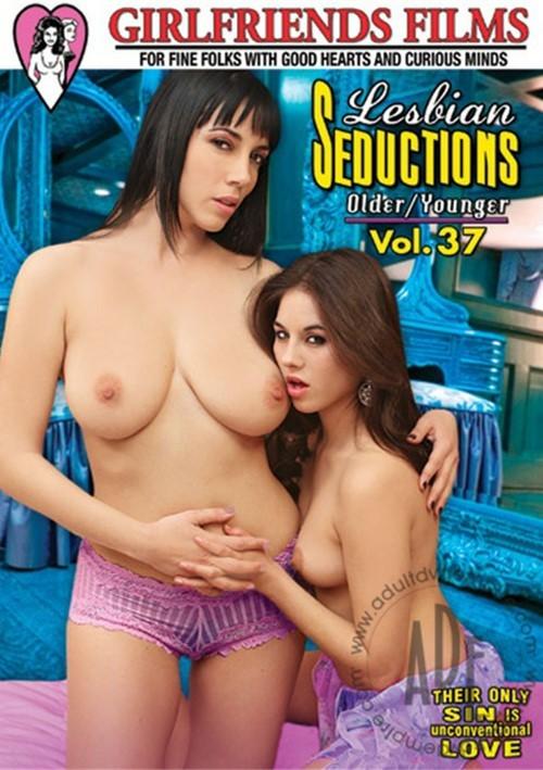 Lesbian Seductions Older/Younger Vol. 37 DVD Porn Movie Image