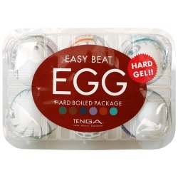 Tenga Easy Beat Egg 6 Pack - Hard Boiled Sex Toy