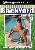 Backyard Amateurs #24 Porn Movie