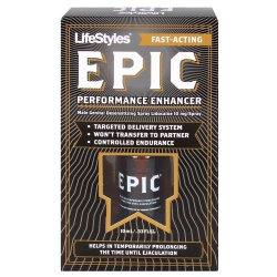 LifeStyles EPIC Male Genital Desensitizer Performance Enhancer Sex Toy