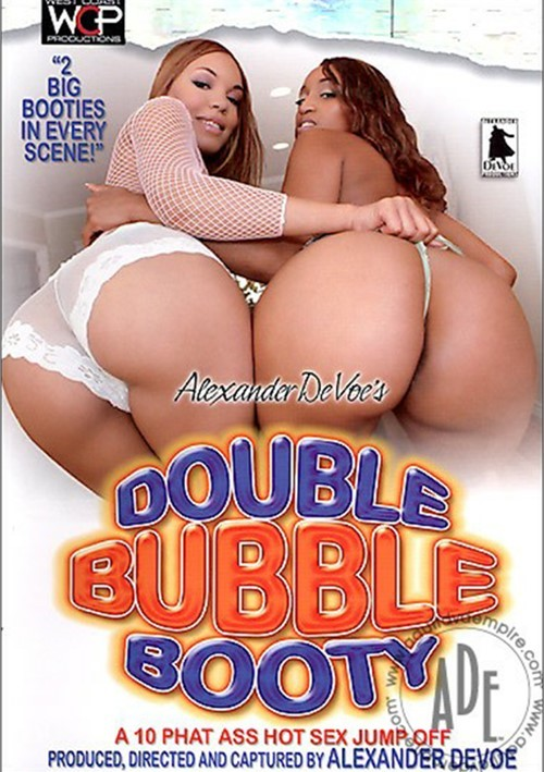 Double Bubble Booty Black Big Butt Threesomes