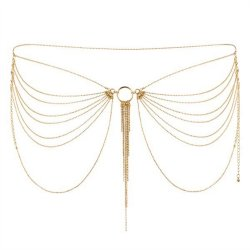 Bijoux Indiscrets Magnifique Collection Gold Chain Waist Jewelry sex toy.