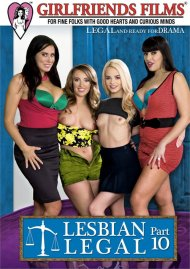 Lesbian Legal Part 10 DVD porn movie from Girlfriends Films.