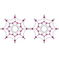 Peekaboos - Crystal Web - Black/Pink Sex Toy