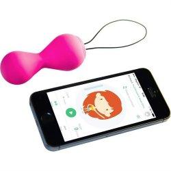 G Balls 2 With App Pelvic Trainer - Petal Rose Sex Toy