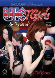 UK T Girls & Friends DVD Image from Grooby.