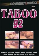 Taboo 92 Porn Movie