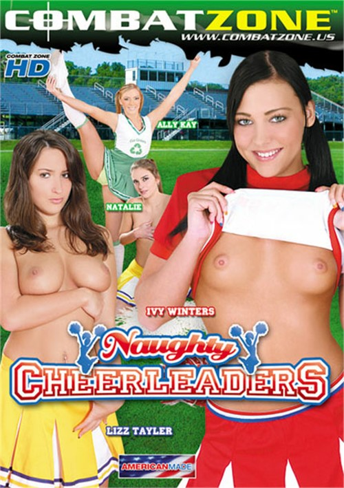 Naughty Cheerleaders DVD Porn Movie Image