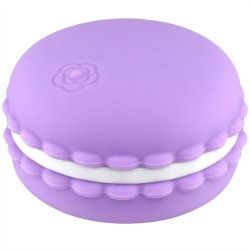 Tokyo Design: Kawaii Silicone Macaroon Rechargeable Vibe - Violet image