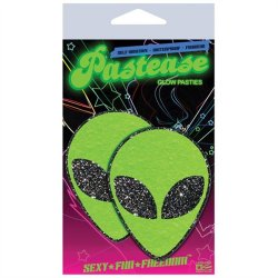 Pastease Green Glitter Alien Sex Toy
