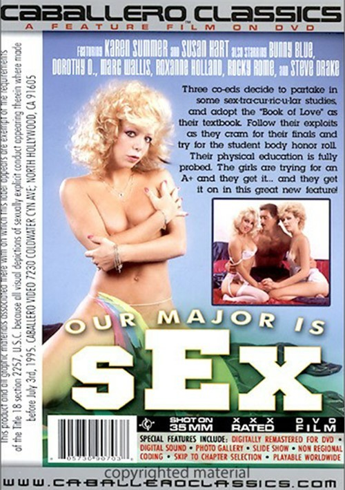 Our Major Is Sex 46