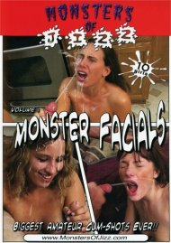 Monsters Of Jizz Vol. 1: Monster Facials Porn Video