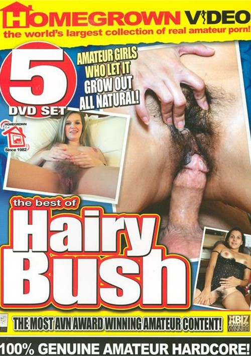 Best Of Hairy Bush, The (5-Pack) Home Made Movies Hairy 2012