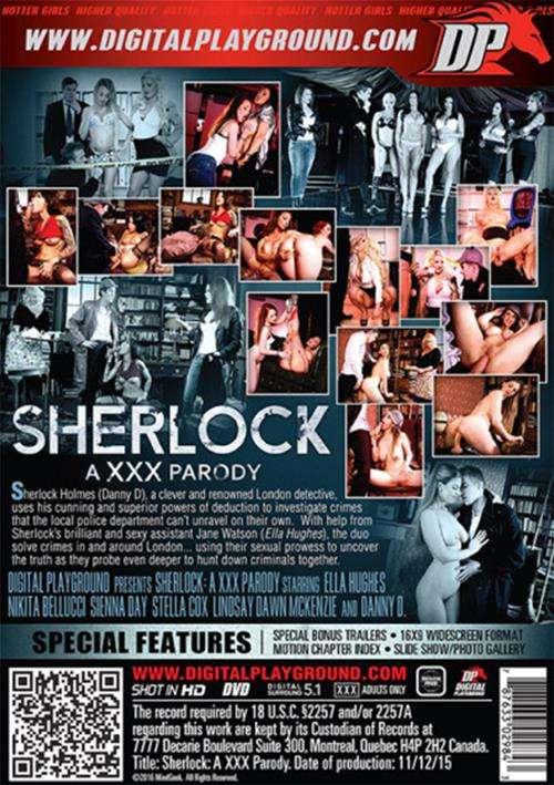 Sherlock A XXX Parody DVD
