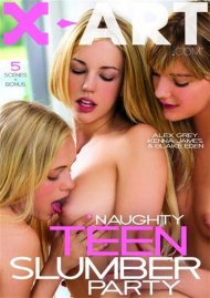 Naughty Teen Slumber Party DVD Image from X-Art.