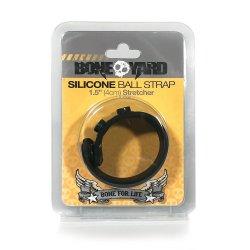 Boneyard Silicone Ball Strap – 1.5 inch sex toy.