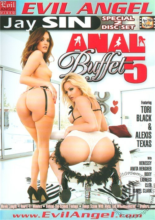 Anal Buffet 5 DVD Porn Movie Image
