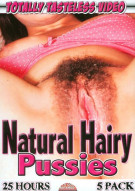 Natural Hairy Pussies (5 Pack) Porn Movie