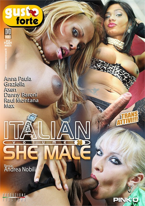 italian shemale 29 dvd № 70868