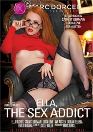 Ella, The Sex Addict 4K HD porn video from Marc Dorcel.