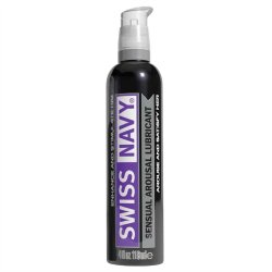 Swiss Navy: Sensual Arousal Lubricant - 4 oz. Sex Toy