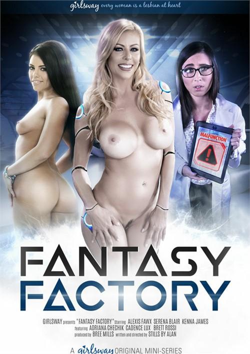 Fantasy Factory All Girl / Lesbian Cadence Lux Stills By Alan
