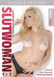 Annette Schwarz is Slutwoman 1 & 2 Porn Movie