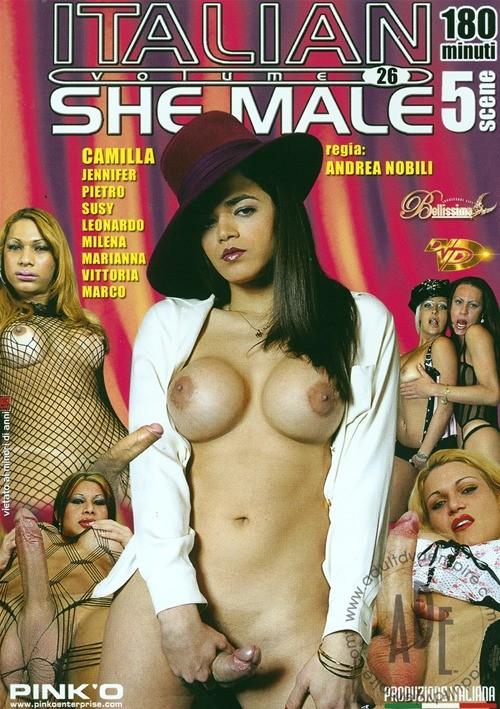 italian shemale 29 dvd № 70856