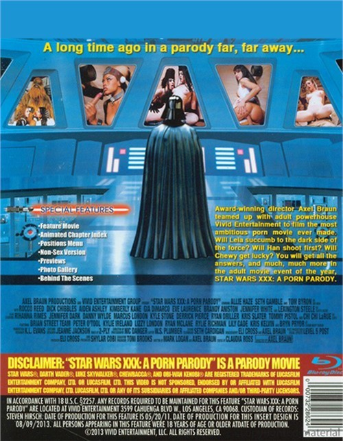Star Wars XXX: A Porn Parody Movie