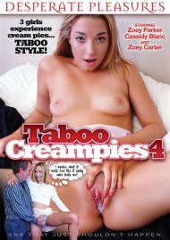 Taboo Creampies 4 DVD Image from Desperate Pleasures.