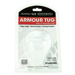 Perfect Fit: Armour Tug - Clear Sex Toy
