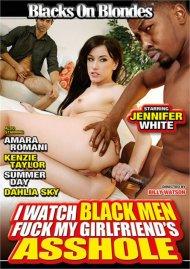 I Watch Black Men Fuck My Girlfriend's Asshole DVD porn movie from Blacks on Blonds.