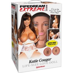 Pipedream Extreme Dollz: Katie Cougar Love Doll Sex Toy