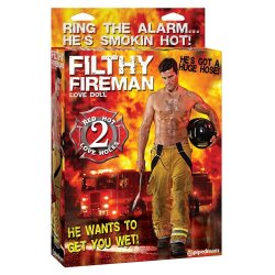Filthy Fireman Love Doll Sex Toy
