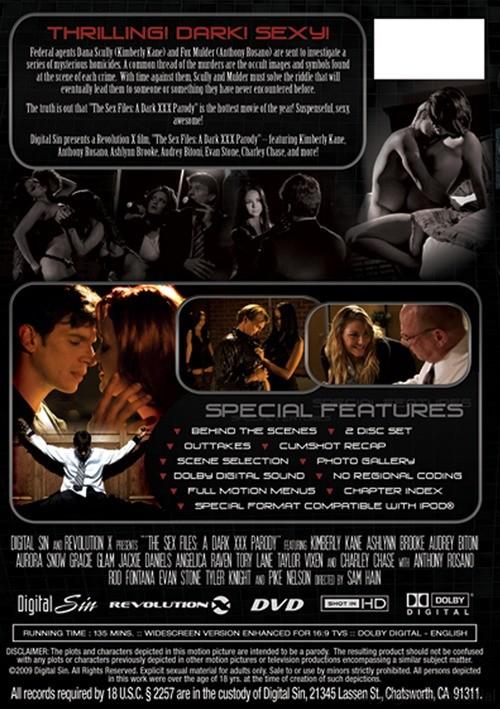 Digital Sin Presents The Sex Files A Dark XXX Parody Movie