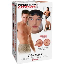 Pipedream Extreme Dollz: Tyler Rocks Love Doll Sex Toy