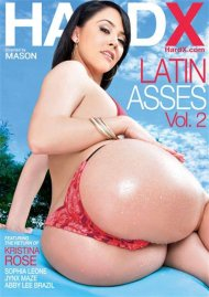 Latin Asses Vol. 2 DVD Image from HardX.