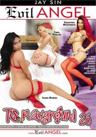 TS Playground 26 DVD porn movie from Evil Angel.