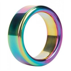 Malesation Nickel Free Stainless Steel Rainbow - 38 mm Sex Toy